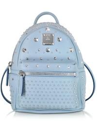 MCM Logo Print Embellished Backpack Out of stock · MCM Stark Special Bebe  Boo Sky Blue Leather Backpack 9da3941a5b435