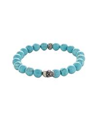Degs & Sal Stone Bead Stretch Bracelet