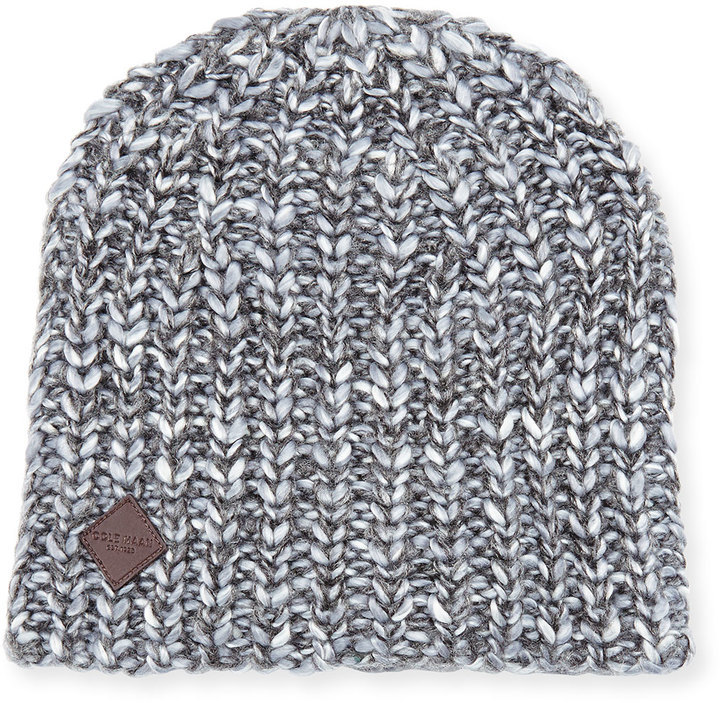 Cole Haan Shaker Stitch Beanie Hat Castle Rock