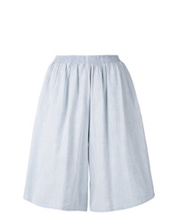 MM6 MAISON MARGIELA High Waist Wide Leg Shorts