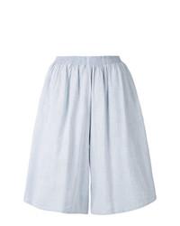 MM6 MAISON MARGIELA High Waist Wide Leg Shorts