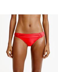 J.Crew Ruched Bikini Bottom