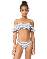 Splendid All Day Off Shoulder Bikini Top