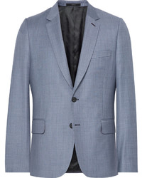 Paul Smith Blue Soho Slim Fit Wool Twill Suit Jacket