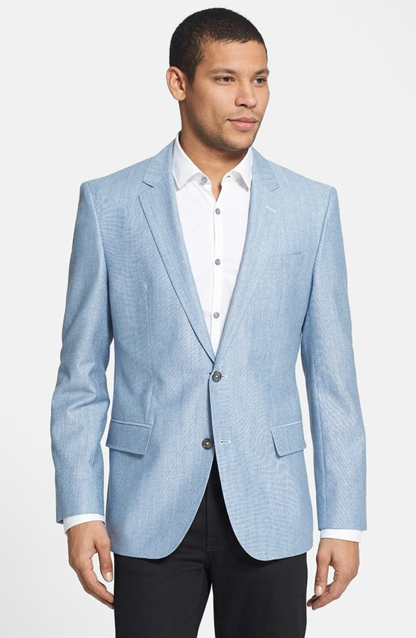Hugo Boss Boss Hutsons Trim Fit Cotton Wool Sportcoat | Where to ...