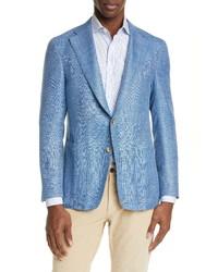 Canali Classic Fit Melange Blend Sport Coat
