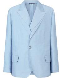 Dolce & Gabbana Double Layer Single Breasted Blazer