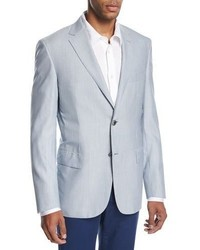 Fine line wool silk sport coat medium 3718838