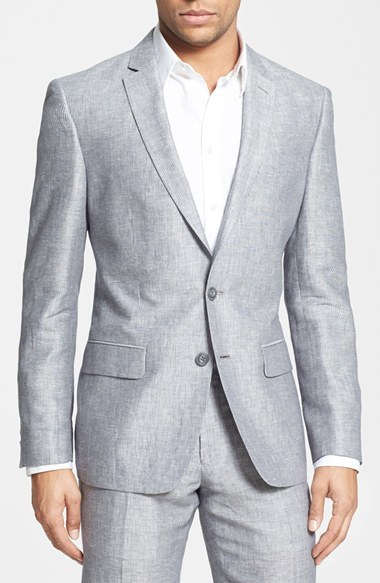 John Varvatos Star Usa Stripe Linen Cotton Sport Coat | Where to ...