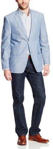 tommy hilfiger ethan 2 button side vent linen sport coat. Black Bedroom Furniture Sets. Home Design Ideas