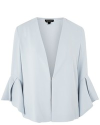 Topshop Waterfall Sleeve Blazer