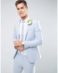 Men's Light Blue Blazers by Asos | Men's Fashion