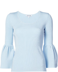 Elizabeth and James Balloon Sleeves Top
