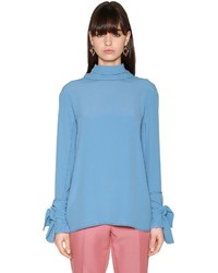 Marni Crepe Top W Bow