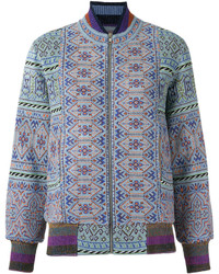 Knitted bomber jacket medium 4105612