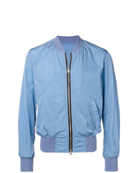 AMI Alexandre Mattiussi Zipped Bomber Jacket