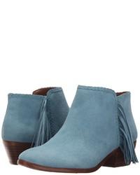 Light Blue Boots