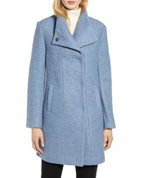 Kenneth Cole New York Wool Blend Boucle Coat