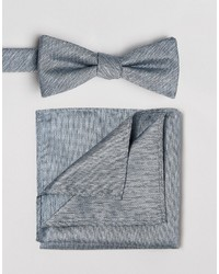 Selected Homme Bow Tie Pocket Square Set