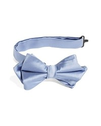 Nordstrom Silk Bow Tie Light Blue One Size