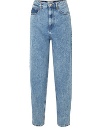 Isabel Marant Etoile Corsyj High Rise Tapered Jeans
