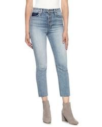 Joe's Jeans Joes Debbie High Waist Crop Boyfriend Jeans