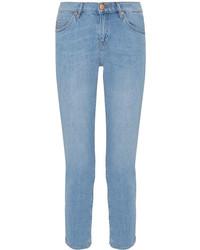 MiH Jeans Mih Jeans Tomboy Cropped Slim Boyfriend Jeans Mid Denim