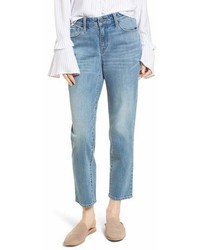 Pansy embroidered crop boyfriend jeans medium 6988910