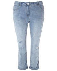 Plus size repaired boyfriend jeans medium 5255973