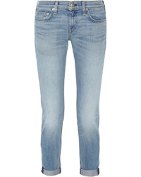 Rag and Bone Rag Bone The Dre Mid Rise Slim Boyfriend Jeans