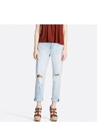 Uniqlo Slim Boyfriend Fit Ankle Jeans