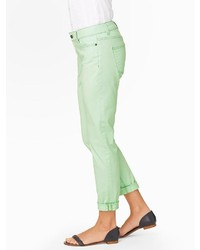 Talbots Colored Boyfriend Jeans | Where to buy & how to wear