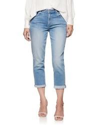 Paige Transcend Vintage Jimmy Jimmy High Waist Crop Boyfriend Jeans