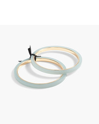 J.Crew Thin Resin Bangle Set