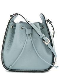 Valentino Gaaravani Rockstud Bucket Shoulder Bag
