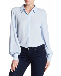 Vince Camuto Front Button Blouse
