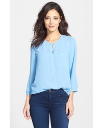 Henley blouse medium 151924
