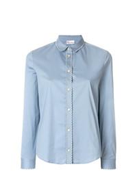 Scalloped trim blouse medium 7704077