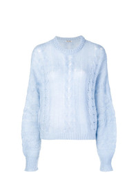 Miu Miu Cable Knit Sweater