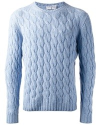 Fedeli Cable Knit Jumper