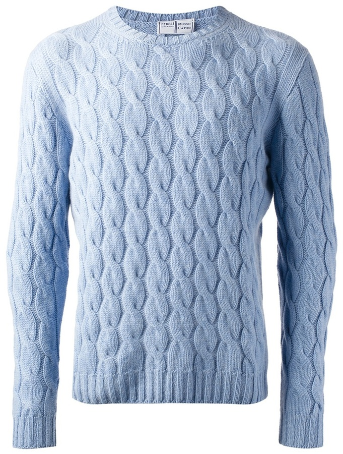 Fedeli Cable Knit Jumper | Where to buy & how to wear