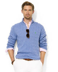 Men's Light Blue Sweaters by Polo Ralph Lauren | Men's Fashion
