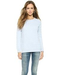 Lattice aran sweater medium 180700