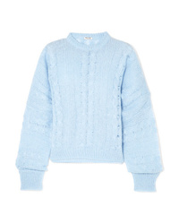 Miu Miu Oversized Cable Knit Sweater