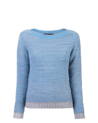 The Elder Statesman Textured Knit Sweater
