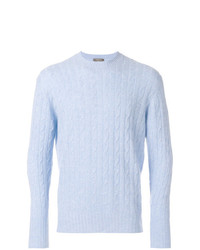 N.Peal Thames Cable Knit Sweater