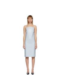 Kwaidan Editions Blue Latex Slip Dress