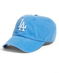 American Needle Danbury Los Angeles Dodgers Baseball Cap Blue