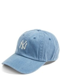 American Needle Danbury New York Yankees Baseball Cap Blue