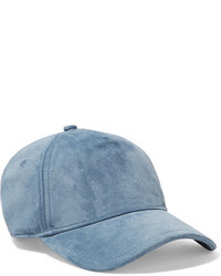Rag & Bone Marilyn Suede Baseball Cap Blue